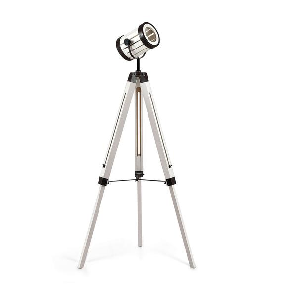 Ideal Lux Torchio White Vintage Tripod Floor Lamp