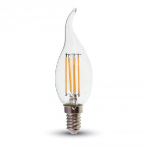 4W Filament Patent Candle Flame Warm White 4302