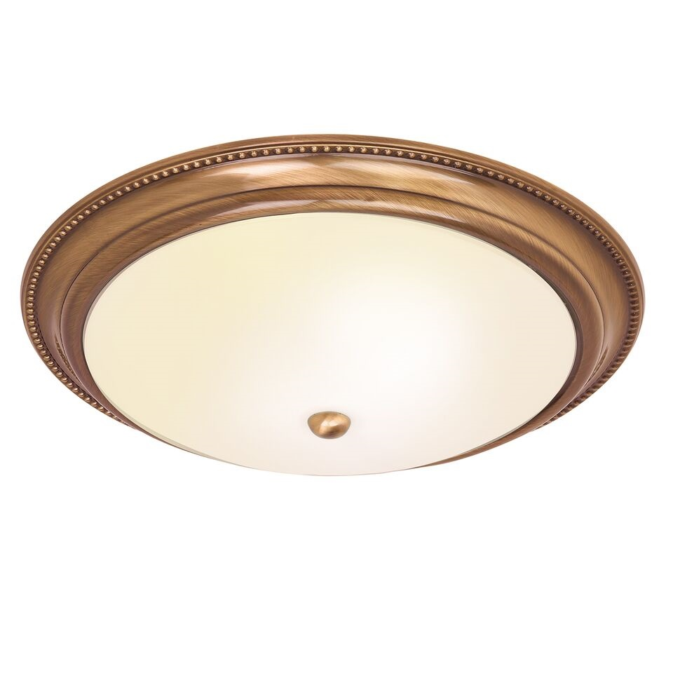 Atlas 2lt Flush Antique Brass