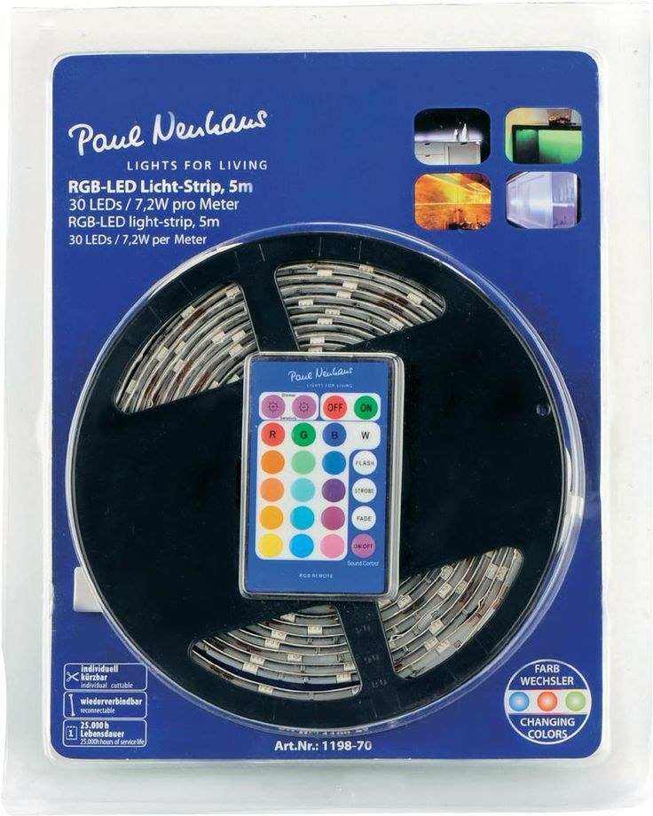RGB Light Strip 5M 1198-70