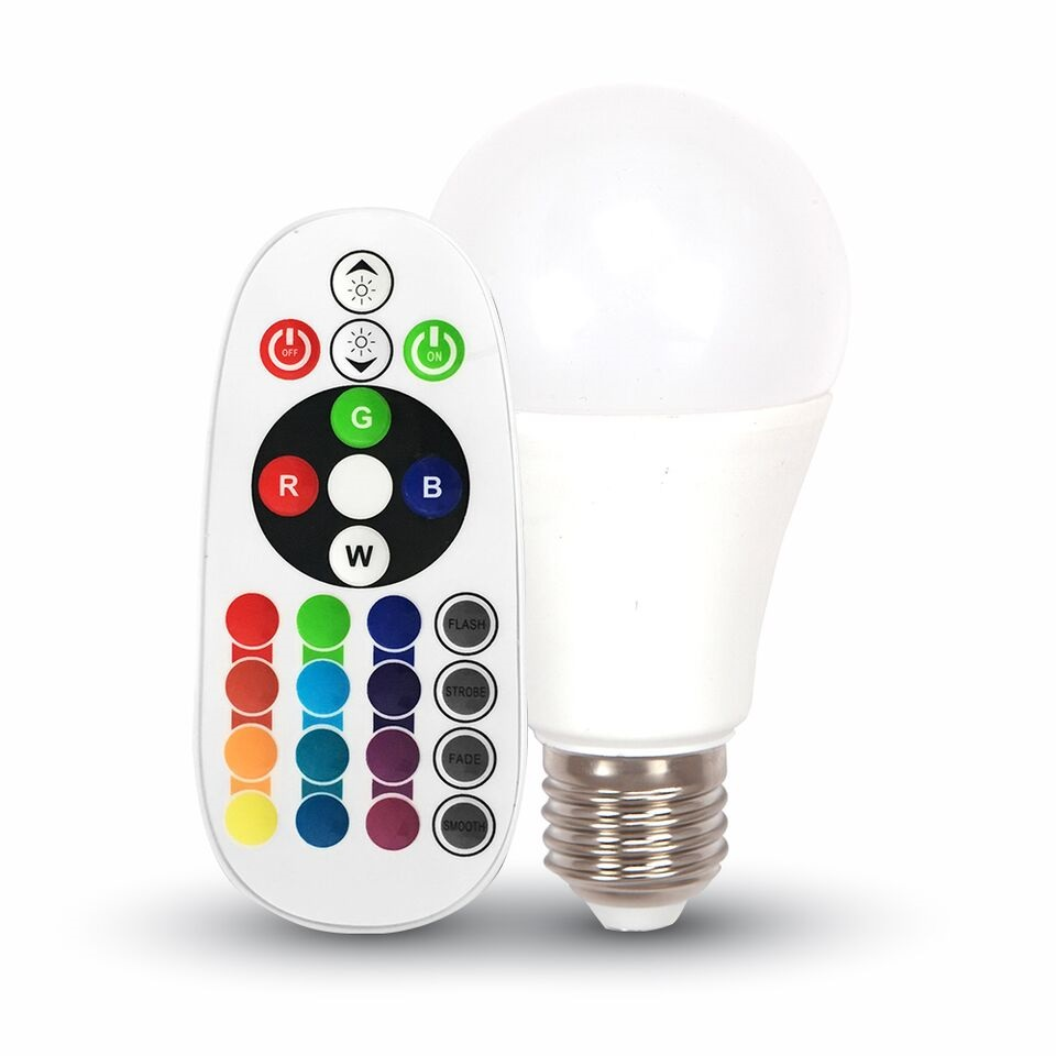 RGB Bulb 6W 3000K Warm White 7121